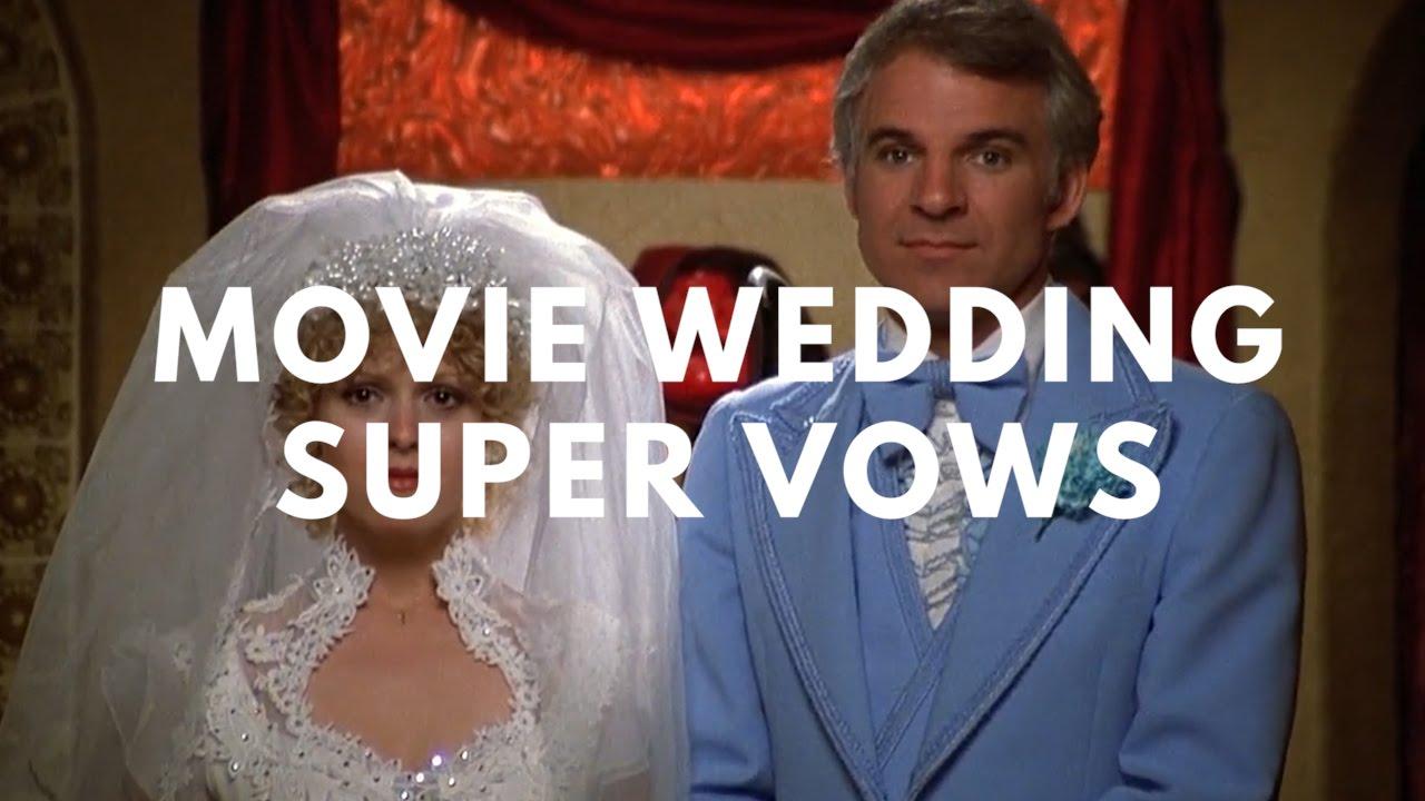 Movie Wedding Super Vows - YouTube