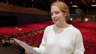 """THE HELLO GIRLS cast members sing """"Home From The War"""""""