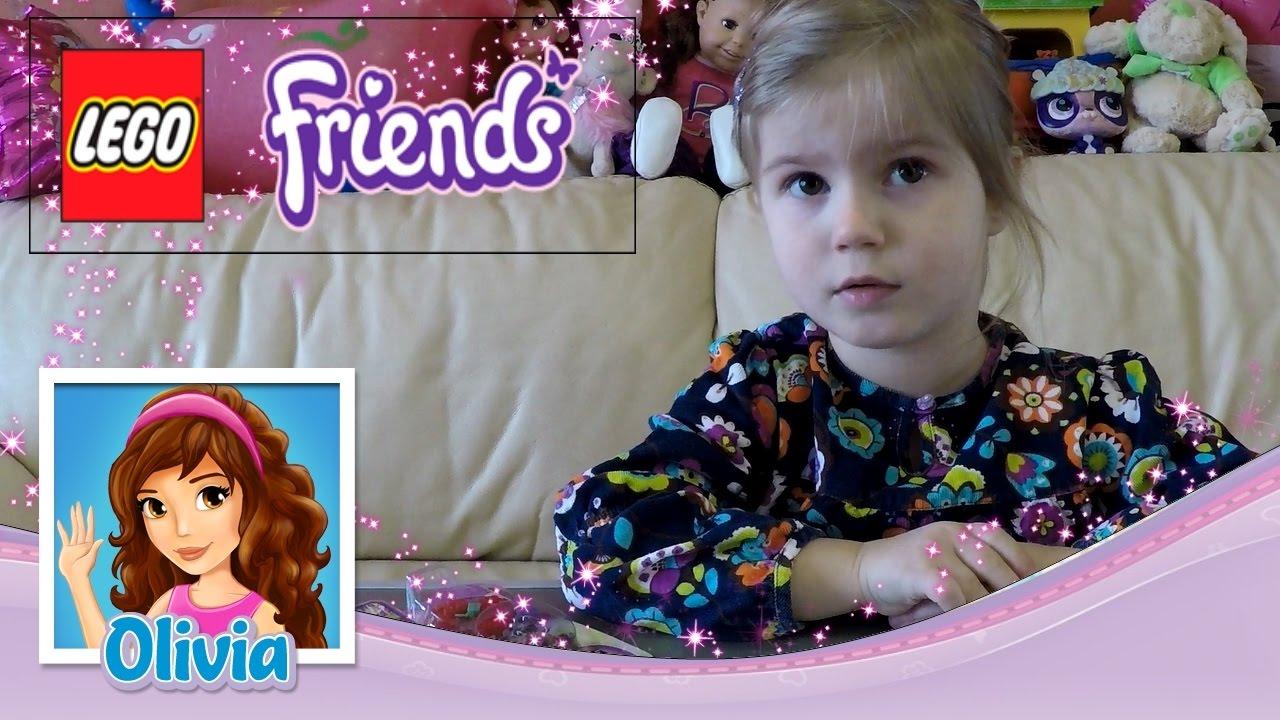Лего Френдс для девочек Оливия 🌟 LEGO Friends Smoothie ...