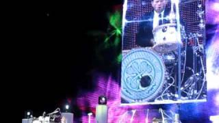 Rod Stewart - Drum Solo / Stockholm June 17 2010