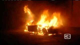 Car Goes Up In Flames In Roseville