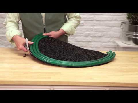 How to Make a Garden Hose Doormat | HuffPost Life