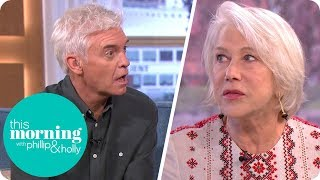 Dame Helen Mirren Enthrals Holly and Phillip With Her Ghostly Encounter Story | This Morning
