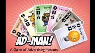 Ad-Man! a game of advertising mascots - Kickstarter Pitch Video