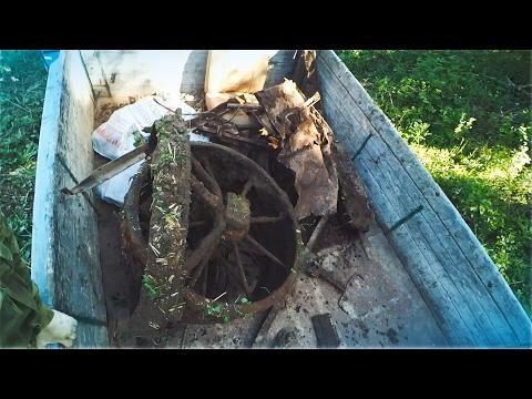 Поиск металлолома ! Накопали полный кузов! Часть 2