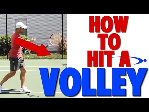 Thumbnail: How to Hit a Tennis Volley | Complete Technique (Top Speed Tennis)
