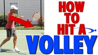 How to Hit a Tennis Volley | Complete Technique (Top Speed Tennis)