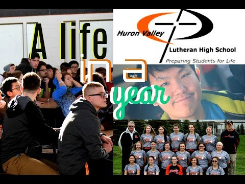 Huron Valley Lutheran High School from an exchange student | Year 2016-2017 | THANK YOU