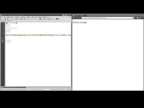 HTML5 Href Links
