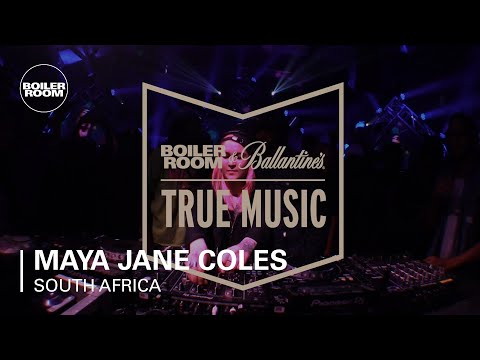 Maya Jane Coles Boiler Room & Ballantine's True Music South Africa DJ Set
