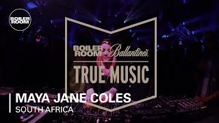 Maya Jane Coles Boiler Room & Ballantine's True Music South Africa DJ Set