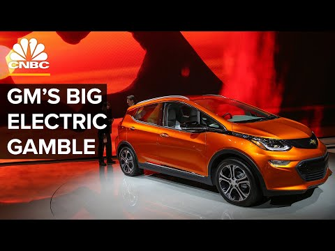 Why GM's All-Electric Future Is A Big Gamble