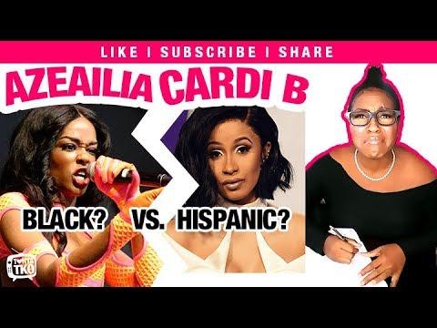 Azealia Banks Cardi B Black VS Hispanic Beef? Tonya Tko Response Break Down