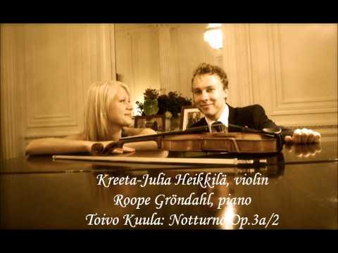 Toivo Kuula: Notturno Op.3a/2