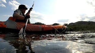 相模川 ソロ カヤック sevylor quikpak k5 kayak