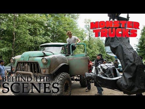 MONSTER TRUCKS | Avoiding Traffic | Official Deleted Scene