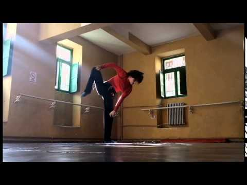 Dance solo improvisation