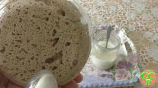 Хмелевая закваска спонтанного брожения ржаная и пшеничная