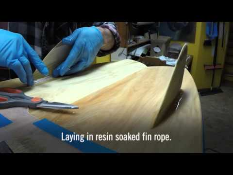 Grain Surfboard Build - Part 8, Making the Fins