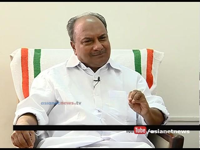 A. K. Antony Praise Asianet news Roving reporter series