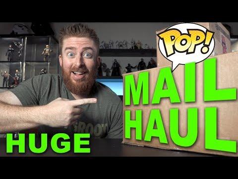HUGE Funko Pop Mail Haul - GIVEAWAY