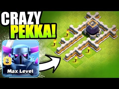 CRAZIEST DARK ELIXIR FARMING STRATEGY EVER!? - Clash Of Clans - IMMORTAL PEKKA!