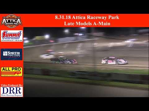 8.31.18 Attica Raceway Park Late Models A-Main