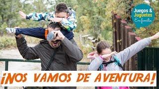 NOS VAMOS DE AVENTURA // rutas con niños // cascadas del purgatorio // Juegos y Juguetes en familia