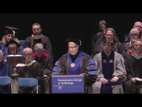 Penn College Commencement: May 13, 2016