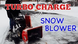 TURBO CHARGE YOUR SNOW BLOWER - How to Install a Snow Blower Impeller Kit