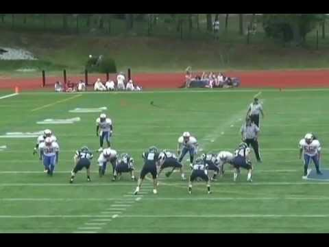 Nick Liguori #4 DB/WR  Moses Brown School  Providence,RI