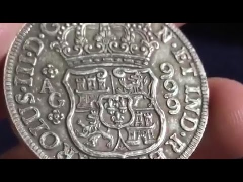 Win A Pieces of Eight Pillar Dollar Silver Replica from QSB