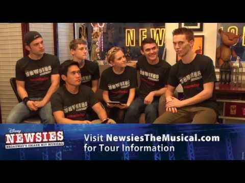 Newsies on Tour Live Chat