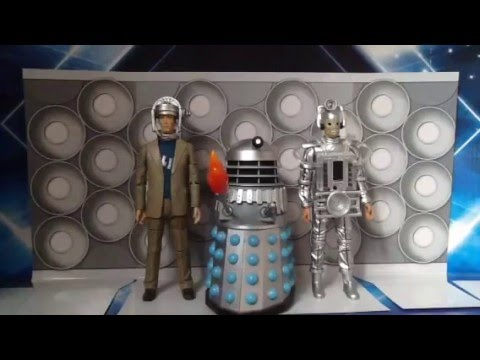 Doctor Who Action Figure Review: Enemies of The First Doctor Set