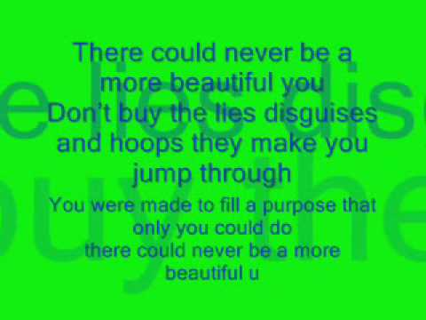 Jonny Diaz-More Beautiful you lyrics