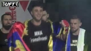Ion Surdu vs Stansilav Enchev UFT 7, Cluj-Napoca Surdu Ion MMA Transilvania