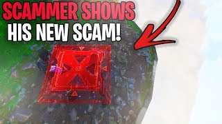 Rich Scammer Shows Me His *NEW SCAM* Method! (Scammer Gets Scammed) Fortnite Save The World