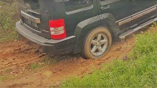 Jeep Cherokee KK (Liberty) off-road test