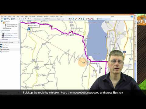 Project: Google Map route to BaseCamp car/motor route - Windows