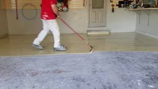 Sheboygan Epoxy Garage Floor