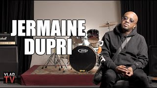 In this VladTV exclusive, Jermaine Dupri spoke about Janet Jackson being boycotted because of the incident at the Super Bowl during her performance with ...