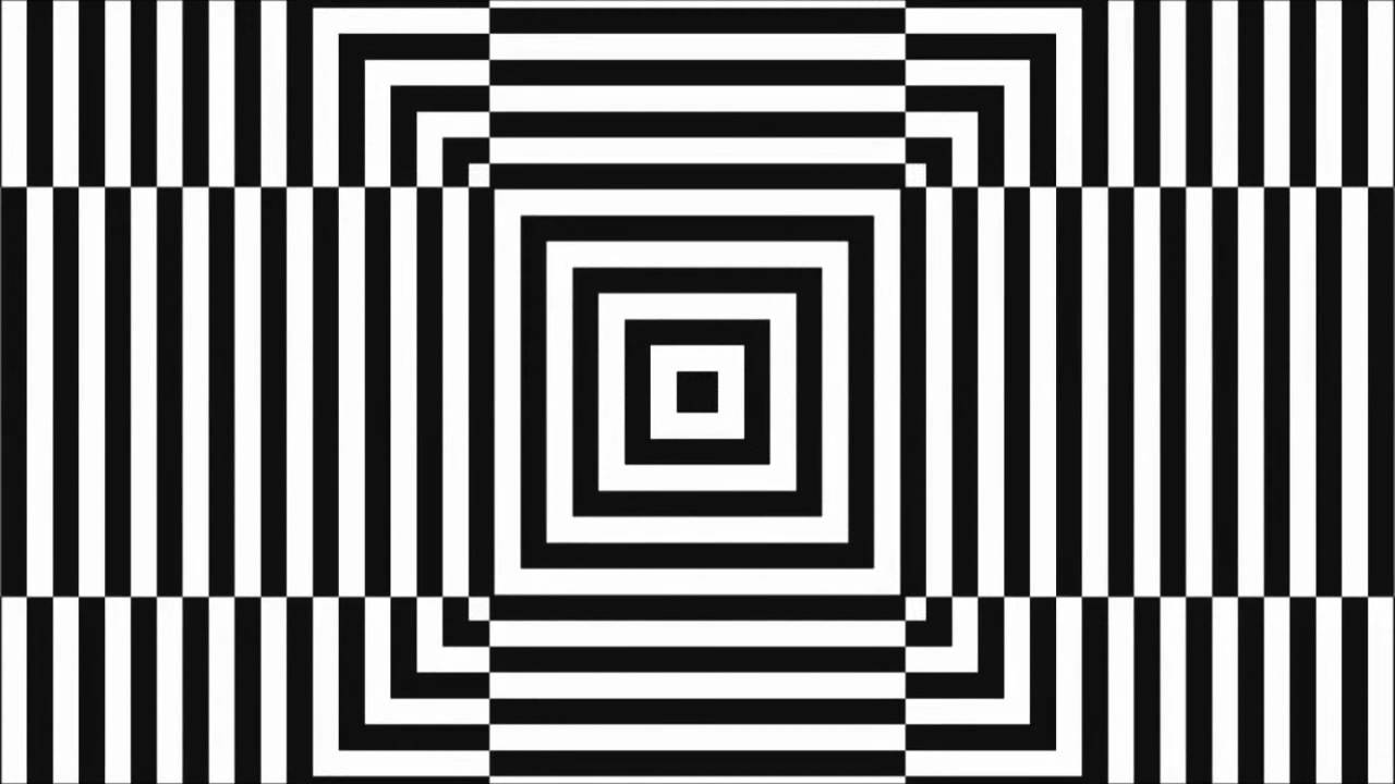 trippy optical illusion eye trick hypnotic hallucinate with