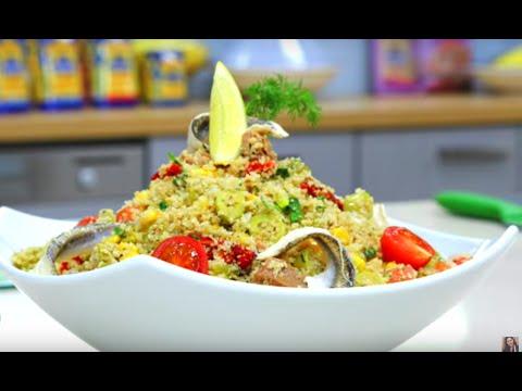 choumicha-:-salade-de-couscous-au-thon-(taboulé)- -couscous-salad-with-tuna