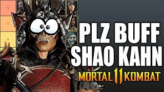 Mortal Kombat 11 - How Terrible Is Shao Kahn??
