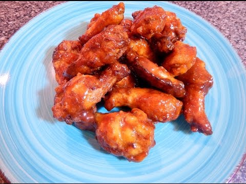 homemade-chicken-wings-with-barbecue-sauce