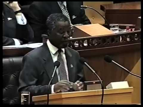 "Thabo Mbeki's ""I am an African"" speech on 8 May 1996 mov"