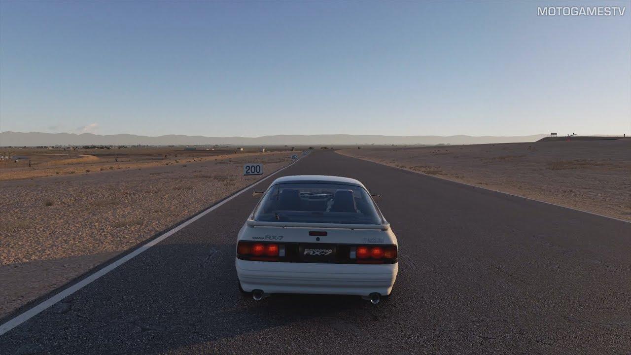 Gran Turismo Sport Mazda Rx 7 Gt X Fc 90 Gameplay Ps4 Pro