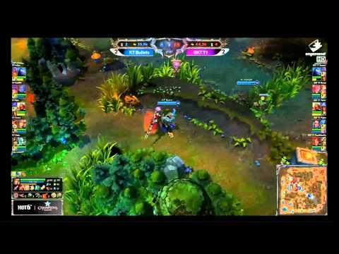 SK Telecom T1 vs KT Bullets Game 5