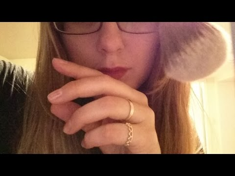ASMR Requested Slow and Fast Hand Movements, Camera Bushing, Tongue Clicking, Whisper & Soft Spoken
