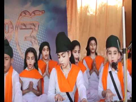 Raimanpreet Kaur Lakhpur in Kirtan competition of Apple Orchard School (Phg) on dated 06-11-2011